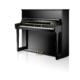 Wilhelm Schimmel 123cm blank sort klaver